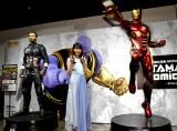 『TAMASHII Comic-Con』新ブランド発表会に出席した飯豊まりえ(C)2018 MARVEL (C)ORICON NewS inc.