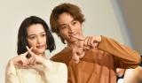 MBS/TBS連続ドラマ『わたしに××しなさい!』のトークイベントに出席した玉城ティナと小関裕太 (C)ORICON NewS inc.