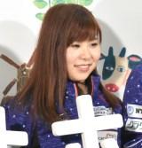 「オホーツクール」のアンバサダーに就任会見に出席した吉田夕梨花 (C)ORICON NewS inc.