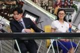 25日放送の『全力!脱力タイムズ』に出演する(左から)吉村崇、榮倉奈々(C)フジテレビ