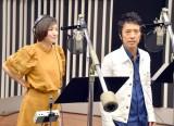 ラジオドラマ『ストリッパー物語』に出演する(左から)広末涼子、筧利夫 (C)ORICON NewS inc.