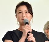 映画『妻よ薔薇のように 家族はつらいよIII』の初日舞台あいさつに出席した夏川結衣(C)ORICON NewS inc.