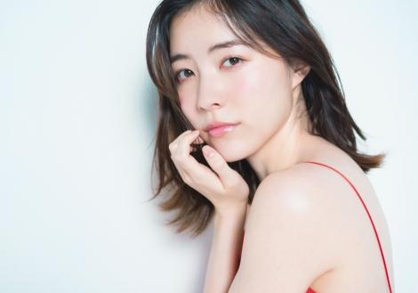 『AKB48総選挙公式ガイドブック2018』=予想1位のSKE48松井珠理奈(撮影:HIROKAZU)