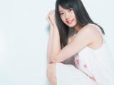 『AKB48総選挙公式ガイドブック2018』=予想13位のSTU48瀧野由美子(撮影:Takeo Dec.)