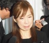 西城秀樹さんの通夜に参列した森口博子 (C)ORICON NewS inc.