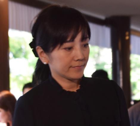 西城秀樹さんの通夜に参列した西田ひかる (C)ORICON NewS inc.