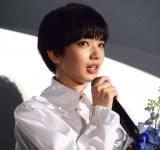 公開初日に映画への思いを語りながら瞳をうるませる小松菜奈 (C)ORICON NewS inc.