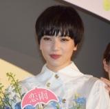 映画『恋は雨上がりのように』の公開初日舞台あいさつに出席した小松菜奈 (C)ORICON NewS inc.