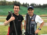 加藤浩次が『炎の体育会TV』の人気企画「クレー射撃対決」に参戦(C)TBS