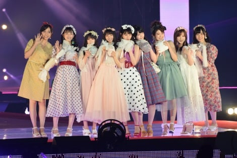 サムネイル 『Rakuten GirlsAward 2018 SPRING/SUMMER』に登場した乃木坂46 (C)ORICON NewS inc.