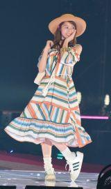 『Rakuten GirlsAward 2018 SPRING/SUMMER』に登場した乃木坂46の桜井玲香 (C)ORICON NewS inc.