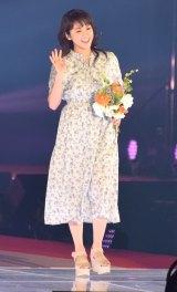 『Rakuten GirlsAward 2018 SPRING/SUMMER』に登場した欅坂46の小林由依 (C)ORICON NewS inc.