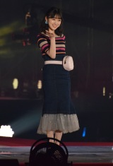 『Rakuten GirlsAward 2018 SPRING/SUMMER』に登場した乃木坂46の堀未央奈 (C)ORICON NewS inc.