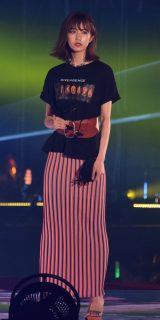 『Rakuten GirlsAward 2018 SPRING/SUMMER』に登場した欅坂46の土生瑞穂 (C)ORICON NewS inc.