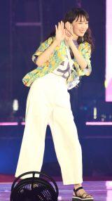 『Rakuten GirlsAward 2018 SPRING/SUMMER』に登場した乃木坂46の飯豊まりえ (C)ORICON NewS inc.