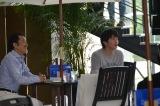 テレビ朝日系連続ドラマ『おっさんずラブ』、フラッシュモブシーンでのオフショット (C)ORICON NewS inc.