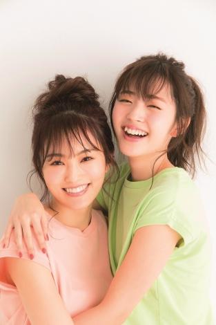 サムネイル 『smart』で雑誌での初共演を果たしたNMB48・山本彩(左)と鈴木愛理