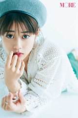 『MORE』7月号に登場する高畑充希 撮影/三瓶康友(C)MORE2018年7月号/集英社