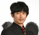 映画『友罪』公開記念舞台あいさつに出席した瑛太 (C)ORICON NewS inc.