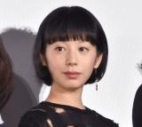 映画『友罪』公開記念舞台あいさつに出席した夏帆 (C)ORICON NewS inc.