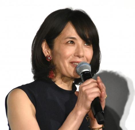 映画『友罪』公開記念舞台あいさつに出席した富田靖子 (C)ORICON NewS inc.