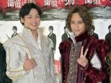 舞台『薔薇と白鳥』でダブル主演を務めるHey! Say! JUMPの(左から)高木雄也、八乙女光 (C)ORICON NewS inc.