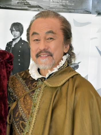 舞台『薔薇と白鳥』に出演する佐藤B作 (C)ORICON NewS inc.