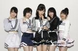 目前に迫った『第10回AKB48世界選抜総選挙』への心境を語ったAKB48メンバー(左から岡部麟、岡田奈々、小栗有以、横山由依、向井地美音)(C)AKS