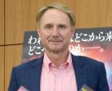 作家デビュー後初来日したダン・ブラウン氏=新作『オリジン』刊行記念記者会見 (C)ORICON NewS inc.