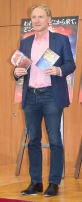 新作『オリジン』刊行記念記者会見に出席したダン・ブラウン氏(C)ORICON NewS inc.