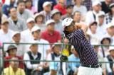 石川遼、浜田に若手ゴルファー紹介