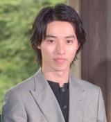 映画『羊と鋼の森』の記者会見に出席した山崎賢人 (C)ORICON NewS inc.