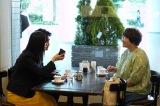 日本テレビ系連続ドラマ『正義のセ』に出演する吉高由里子、近藤春菜 (C)日本テレビ