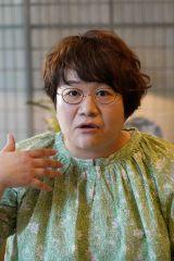日本テレビ系連続ドラマ『正義のセ』に出演する近藤春菜(C)日本テレビ