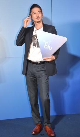 『myblu 新製品発表会/日本初上陸記念パーティー』に出席した窪塚洋介 (C)ORICON NewS inc.