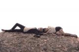 『幸色のワンルーム』原作コミックス1巻の表紙を再現した山田杏奈&上杉柊平によるドラマのキービジュアル。ABCテレビ・テレビ朝日ほかで7月スタート(C)はくり/SQUARE ENIX・ABC TV (C)Hakuri/SQUARE ENIX
