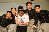 シットキングスがグラミー賞ノミネーターstarRo(中央)とコラボ(C)Takanori Tsukiji