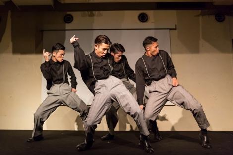 結成10周年を迎えたs**t kingzのパフォーマンス(C)Takanori Tsukiji