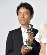 映画『いぬやしき』の初日舞台あいさつに出席した佐藤信介監督 (C)ORICON NewS inc.
