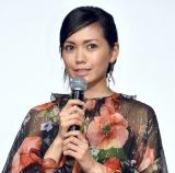 映画『いぬやしき』の初日舞台あいさつに出席した二階堂ふみ (C)ORICON NewS inc.