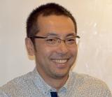 舞台『女帝』囲み取材に出席した脚本・演出を担当のシライケイタ氏 (C)ORICON NewS inc.