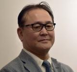 舞台『女帝』囲み取材に出席した原作者・倉科遼氏 (C)ORICON NewS inc.