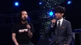 テレビ東京の新番組『ハツダシ!』6月11日放送回に出演するHIP HOPユニット・Creepy Nuts (C)テレビ東京