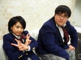 テレビ東京『青春高校3年C組』5月30日は歌のテストを実施します(左から)佐藤諒・小沼綺音 (C)ORICON NewS inc.