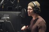 ディズニー・チャンネルのオリジナル・ムービー『ディセンダント3』(仮題)レコーディング中のキャメロン・ボイス(カルロス役)(C)Disney