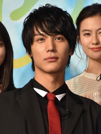 映画『虹色デイズ』(7月6日公開)の完成披露試写会に出席した中川大志 (C)ORICON NewS inc.