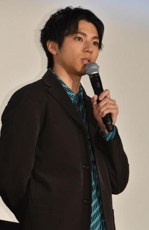映画『虹色デイズ』(7月6日公開)の完成披露試写会に出席した山田裕貴 (C)ORICON NewS inc.