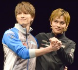 (左から)新田真剣佑、北村匠海のイチャイチャに会場は黄色い悲鳴 (C)ORICON NewS inc.