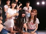 2年連続速報1位で泣き崩れるNGT48荻野由佳(C)AKS