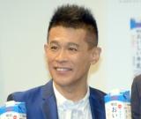 『「明治おいしい牛乳」東京2020オフィシャル牛乳』発表イベントに出席した柳沢慎吾 (C)ORICON NewS inc.